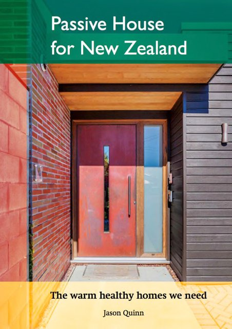 Passive House for New Zealand Book Cover