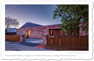 2019 September 20 Stuff: Former Stable Master's Cottage Rebuilt As Certified Passive House
