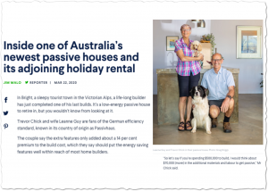 Inside one of Australia's newest passive houses and its adjoining holiday rental